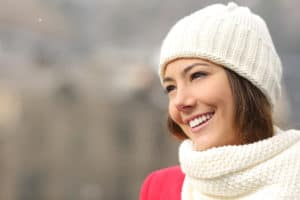 Healthy skin in the winter